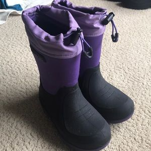 Kamik winter snow boots, waterproof, like new, 11